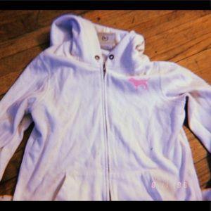 Victoria's Secret Pink Sweater Full Zip